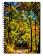Backroads Of The Great Smoky Mountains National Park Spiral Notebook