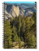 Backroads Of Yosemite Spiral Notebook