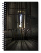 Backstage Control. Spiral Notebook