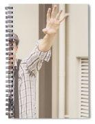 Backup Photo Journalist  Spiral Notebook