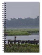 Backwater Bayau Spiral Notebook