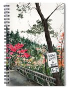 Backwoods Bridge Spiral Notebook