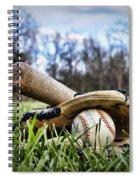 Backyard Baseball Memories Spiral Notebook