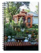 Backyard Garden Spiral Notebook