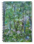 Backyard Mountain Laurel Spiral Notebook