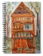 Backyard Play Hut Spiral Notebook