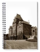 Bacon Hall University Of California Berkeley Circa1895 Spiral Notebook