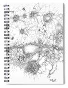 Bacteriophage Ballet Spiral Notebook