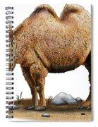 Bactrian Camel Spiral Notebook