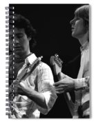 Bad Company At Work In 1977 Spiral Notebook