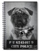 Bad Dog Spiral Notebook