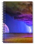 Bad Moon Rising Spiral Notebook