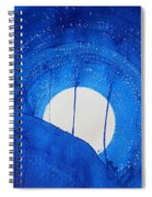 Bad Moon Rising Original Painting Spiral Notebook