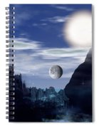 Bad Moons On The Rise Spiral Notebook