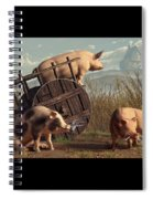 Bad Pigs Spiral Notebook
