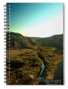 Badlands Coulee Spiral Notebook