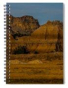 Badlands In Color Spiral Notebook