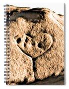 Badlands Love Spiral Notebook