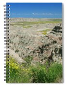 Badlands National Park  1 Spiral Notebook