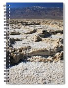 Badwater Telescope Peak Extremes   Spiral Notebook