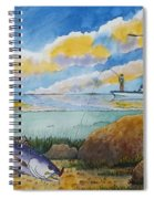 Fishing Baffin Bay Texas  Spiral Notebook