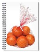 Bag Of Oranges Spiral Notebook