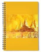 Bagan Heat Spiral Notebook