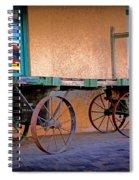 Baggage Cart Spiral Notebook