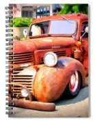 Bagged Out Dodge Spiral Notebook