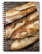 Baguettes Bread Spiral Notebook
