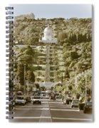 Bahai Gardens Spiral Notebook