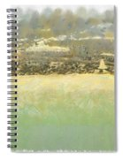 Bahai House Of Worship And Lake Michigan Shoreline Spiral Notebook