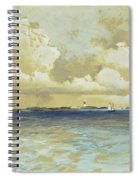 Bahama Island Light Spiral Notebook