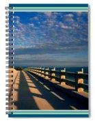 Bahia Honda Bridge In The Florida Keys Spiral Notebook