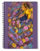 Baile En Las Flores  Spiral Notebook