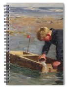 Bailing Out The Boat Spiral Notebook