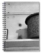 Bait Bucket And Fish Spiral Notebook