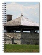 Bake House At Old Fort Niagara Spiral Notebook