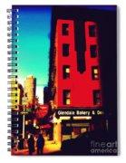 The Bakery - New York City Street Scene Spiral Notebook