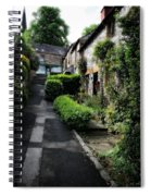 Bakewell Country Terrace Houses - Peak District - England Spiral Notebook