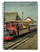 Bala Lake Railway Spiral Notebook