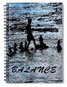 Balance And Zen Spiral Notebook