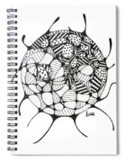 Balance Of Light And Dark Spiral Notebook