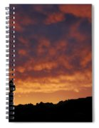 Balanced Rock Al Silhouette  Spiral Notebook