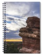 Balanced Rock At Sunrise - Garden Of The Gods - Colorado Springs Spiral Notebook