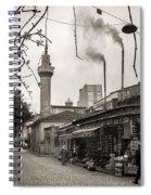 Balat Neighborhood In Istanbul Spiral Notebook