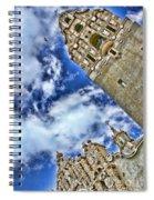 Balboa Park's California Tower By Diana Sainz Spiral Notebook