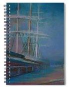 Balclutha In The Mist Spiral Notebook