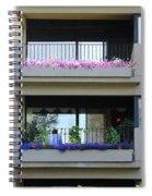 Balconies 4 Spiral Notebook