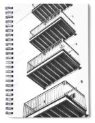 Balconies Spiral Notebook